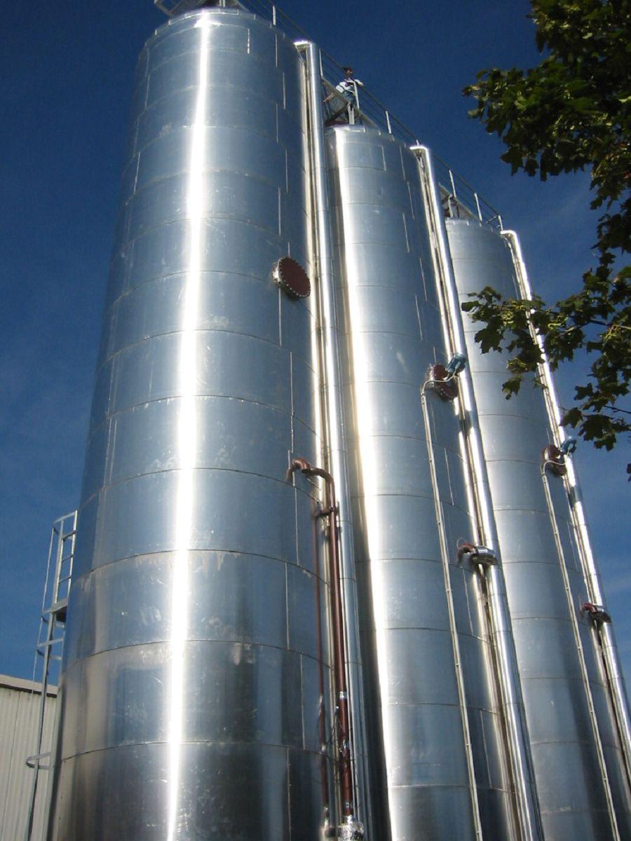 Tanklager für Mineralöle