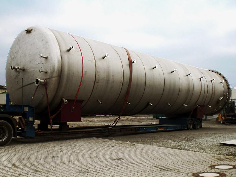 Lagertank für Prozesswasser